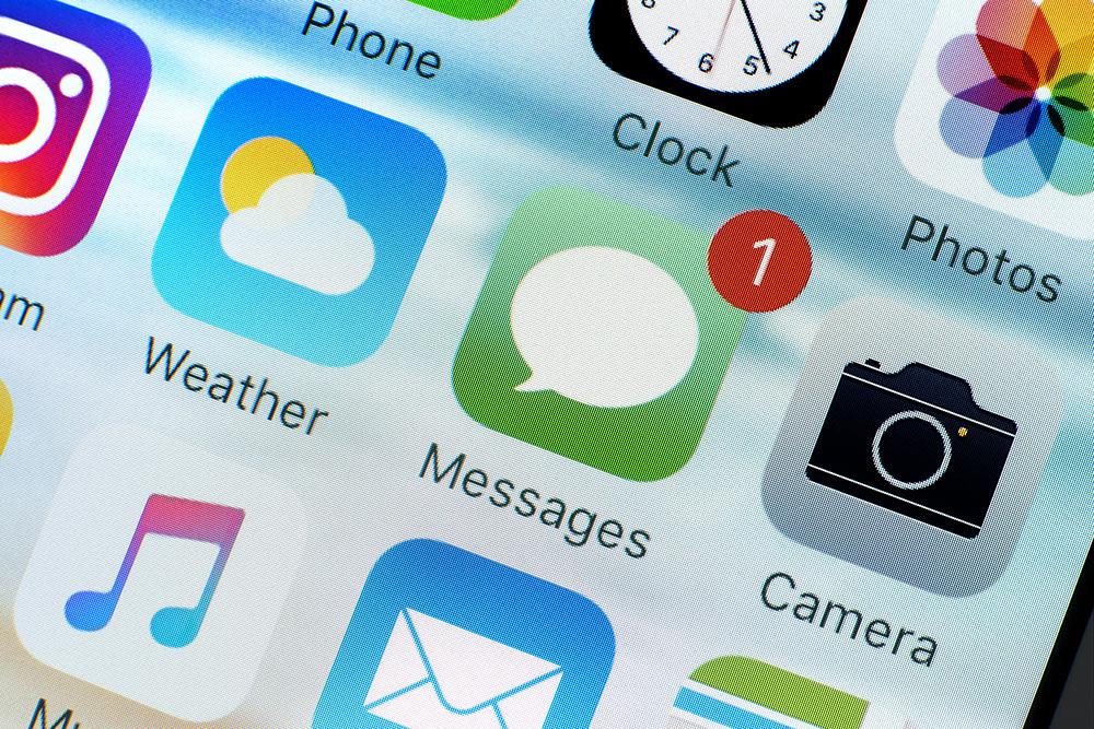 スマートフォンのスクリーンイメージ